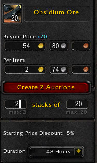 auctionator create multiple auctions Auctionator Proves To Be Better Than Auctioneer For This World Of Warcraft Auction House Player
