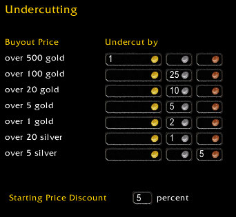 auctionator undercutting Auctionator Proves To Be Better Than Auctioneer For This World Of Warcraft Auction House Player